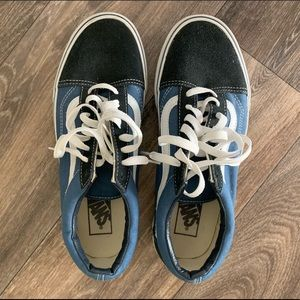 Blue Old Skool Vans Sneakers Men's 9